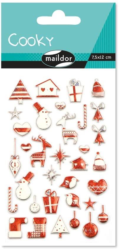 Set 34 de stickere 3D - Crăciun imagine edituradiana.ro