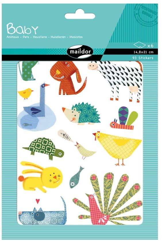 Set 93 de stickere decorative - Animale domestice