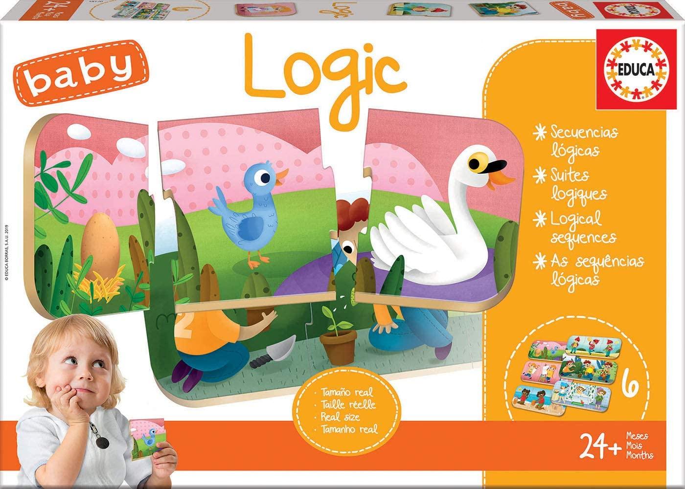 Set de 6 puzzle-uri din câte 3 piese - Secvențe logice imagine edituradiana.ro