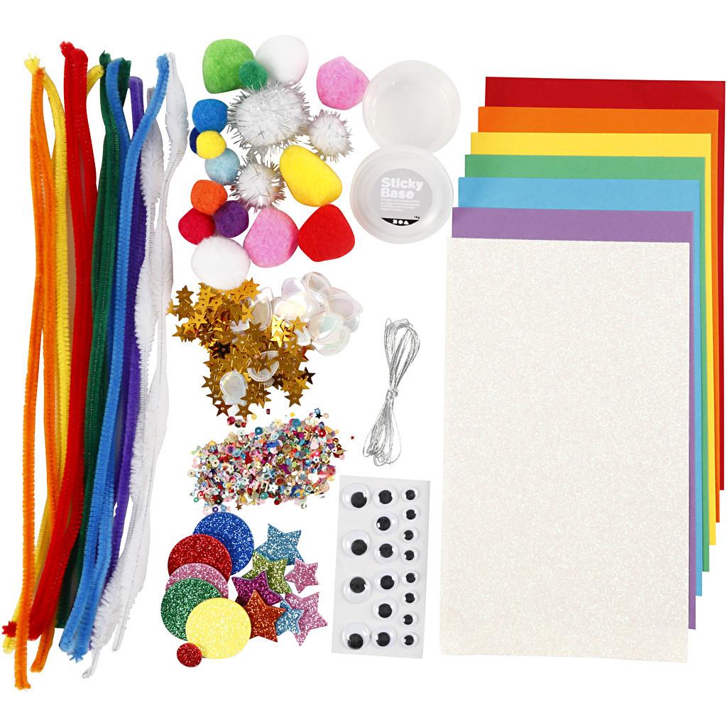 Set de creație mixt - Curcubeu imagine edituradiana.ro