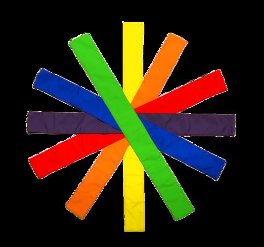 Set de 6 benzi colorate pentru activități sportive imagine edituradiana.ro