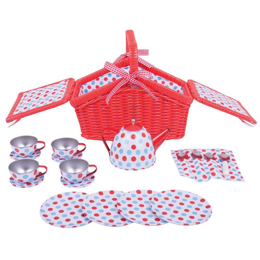 Setul meu de picnic cu buline imagine edituradiana.ro