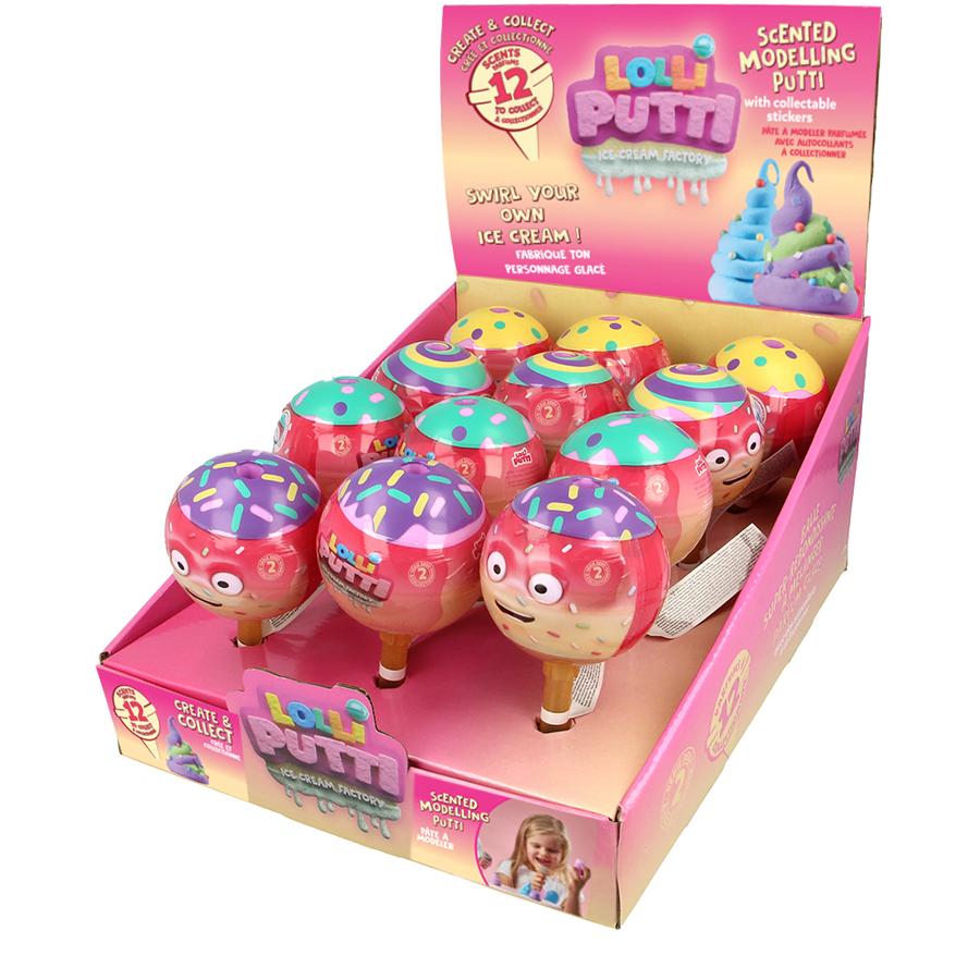 Spumă de modelat parfumată Lolliputti cu accesorii pentru înghețată imagine edituradiana.ro