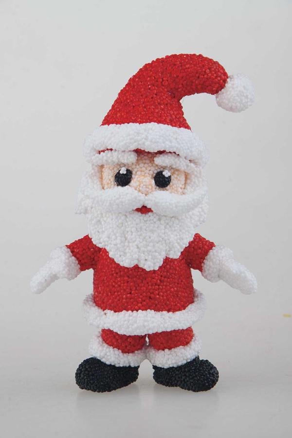 Spumă de modelat pentru decorațiuni de Crăciun – 6 buc imagine edituradiana.ro