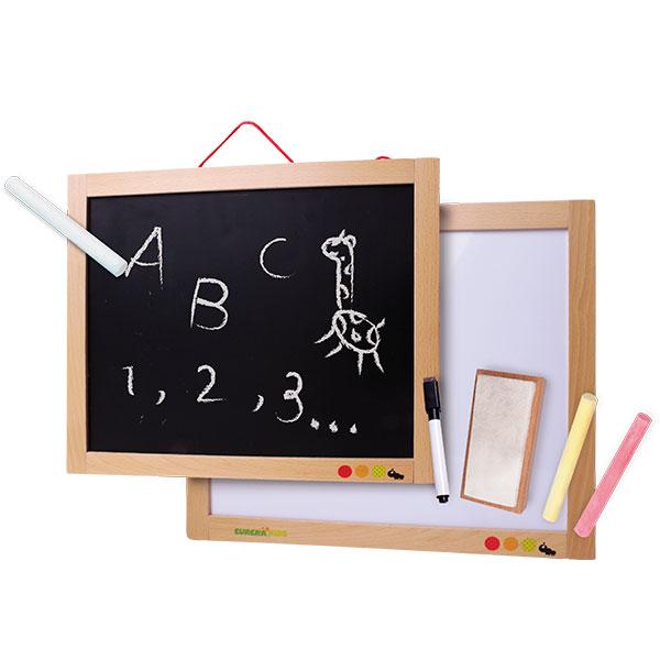 Tablă magnetică de scris și desenat 3 în 1 imagine edituradiana.ro