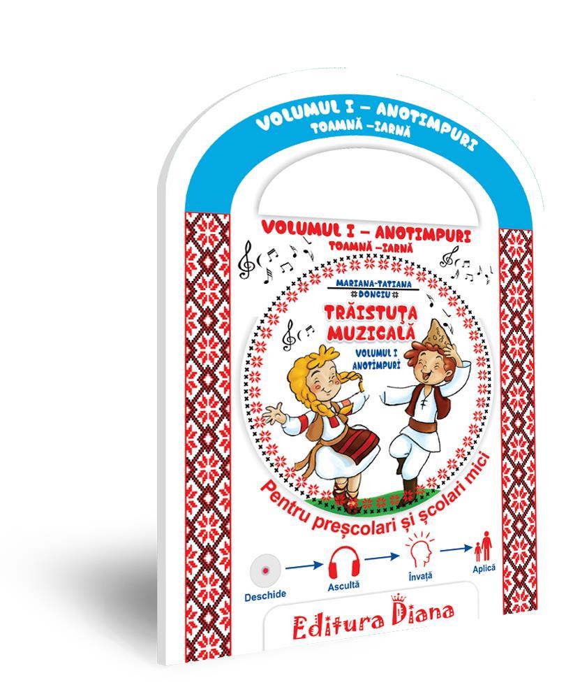 Trăistuța muzicală + CD (vol. I) -Anotimpuri Toamnă/Iarnă imagine edituradiana.ro