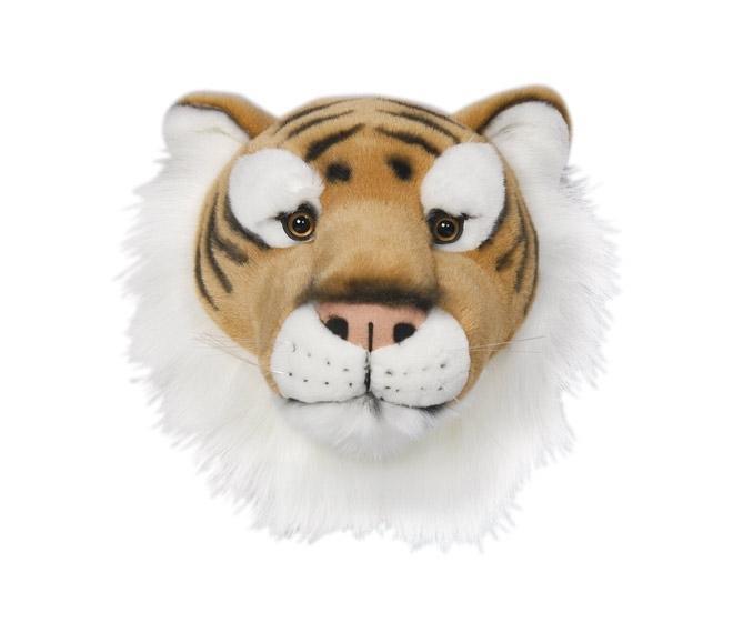 Trofeu din pluș cap de tigru - Felix imagine edituradiana.ro