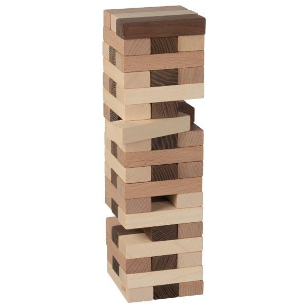 Turnul instabil cu 51 de piese din lemn imagine edituradiana.ro