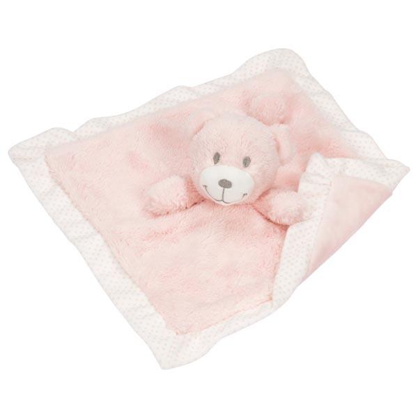 Ursuleț păturică plușată - roz imagine edituradiana.ro