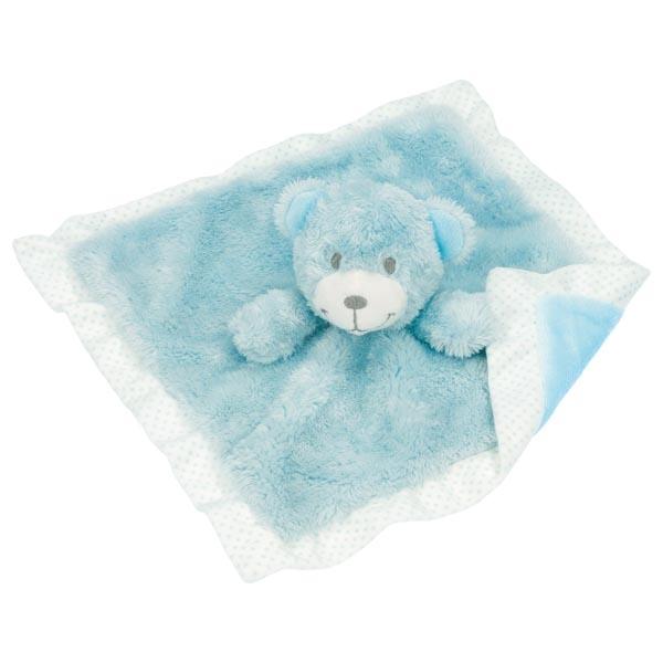 Ursuleț păturica plușată - albastru deschis imagine edituradiana.ro