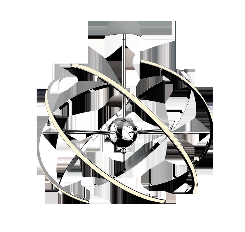 Lustre led pendule led pendul alyson 1 x led 48w rb2433 for Lustre original
