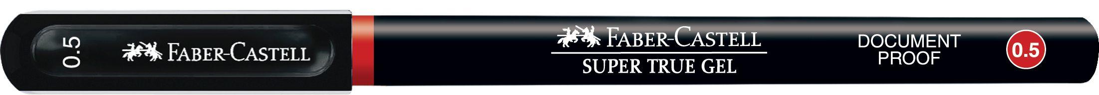 PIX CU GEL 0.5MM SUPER TRUE GEL ROSU FABER-CASTELL