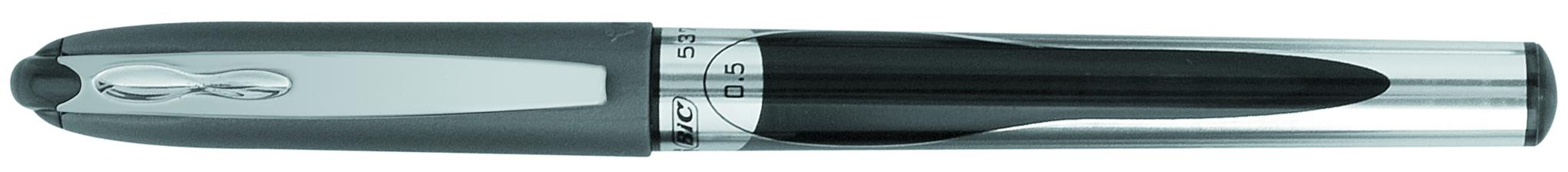 ROLLER 0.5MM NEGRU 537R BIC