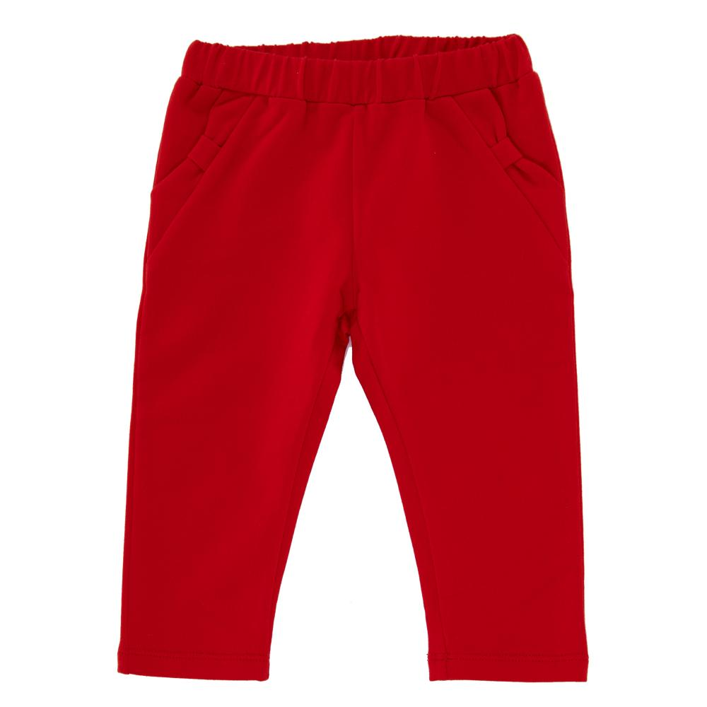 Pantalon lung copii Chicco, fetite, rosu, 24715