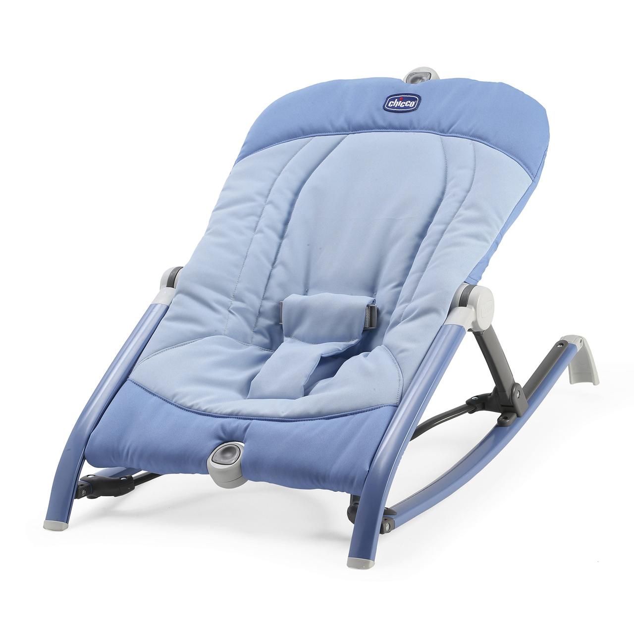 Balansoar pliabil pentru bebelusi Chicco Pocket Relax, Indigo, 0+luni