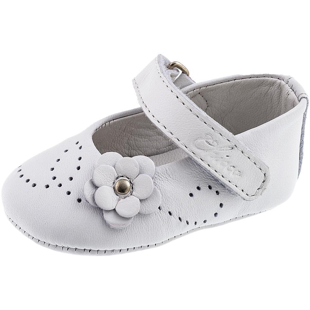 Balerini pentru bebelusi Chicco, alb
