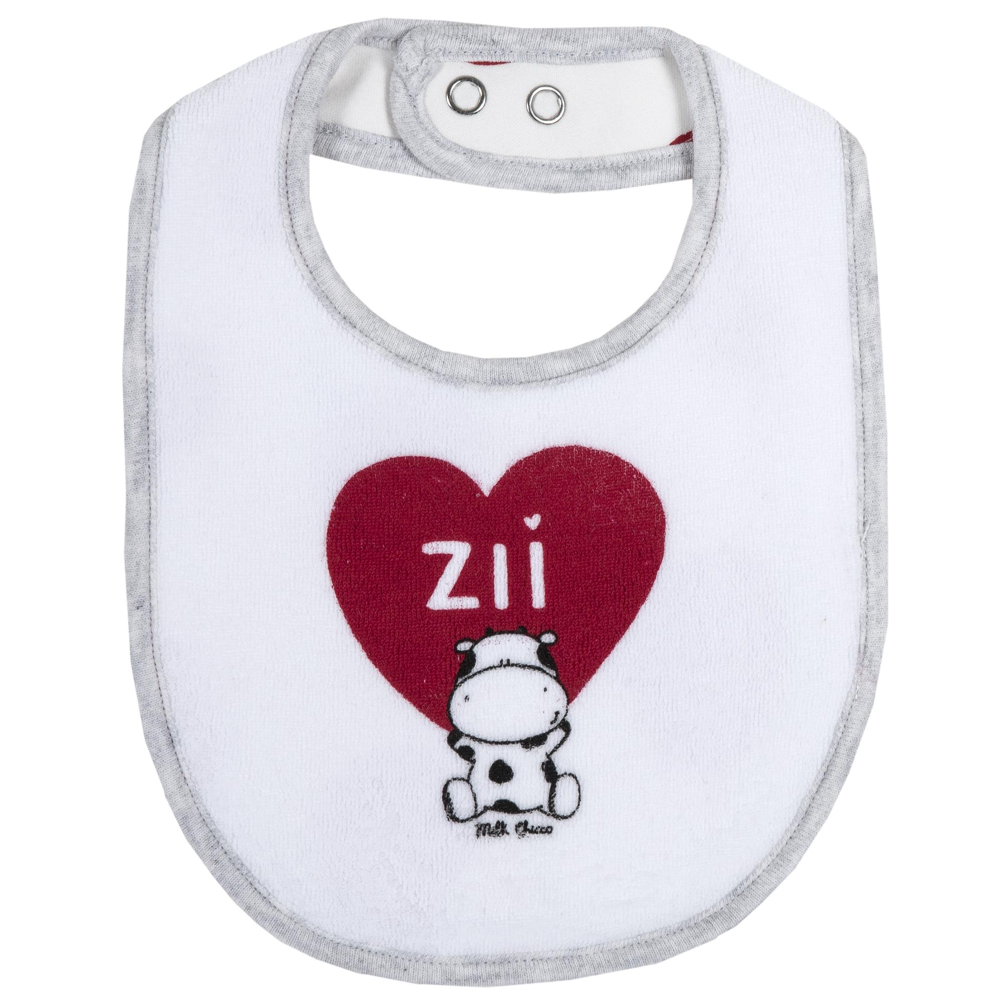"Baveta copii Chicco, alb, ""ZII"", 32716 din categoria Bavete"