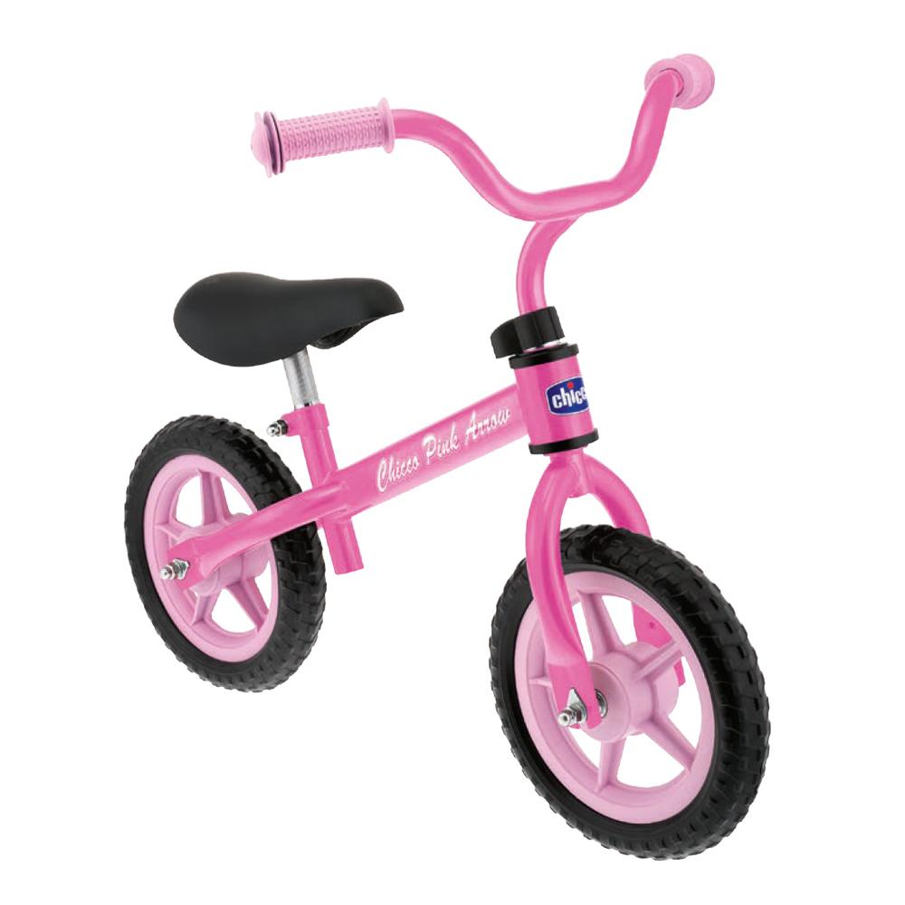 Bicicleta pentru copii fara pedale Chicco Pink Arrow (roz) 2-5 ani