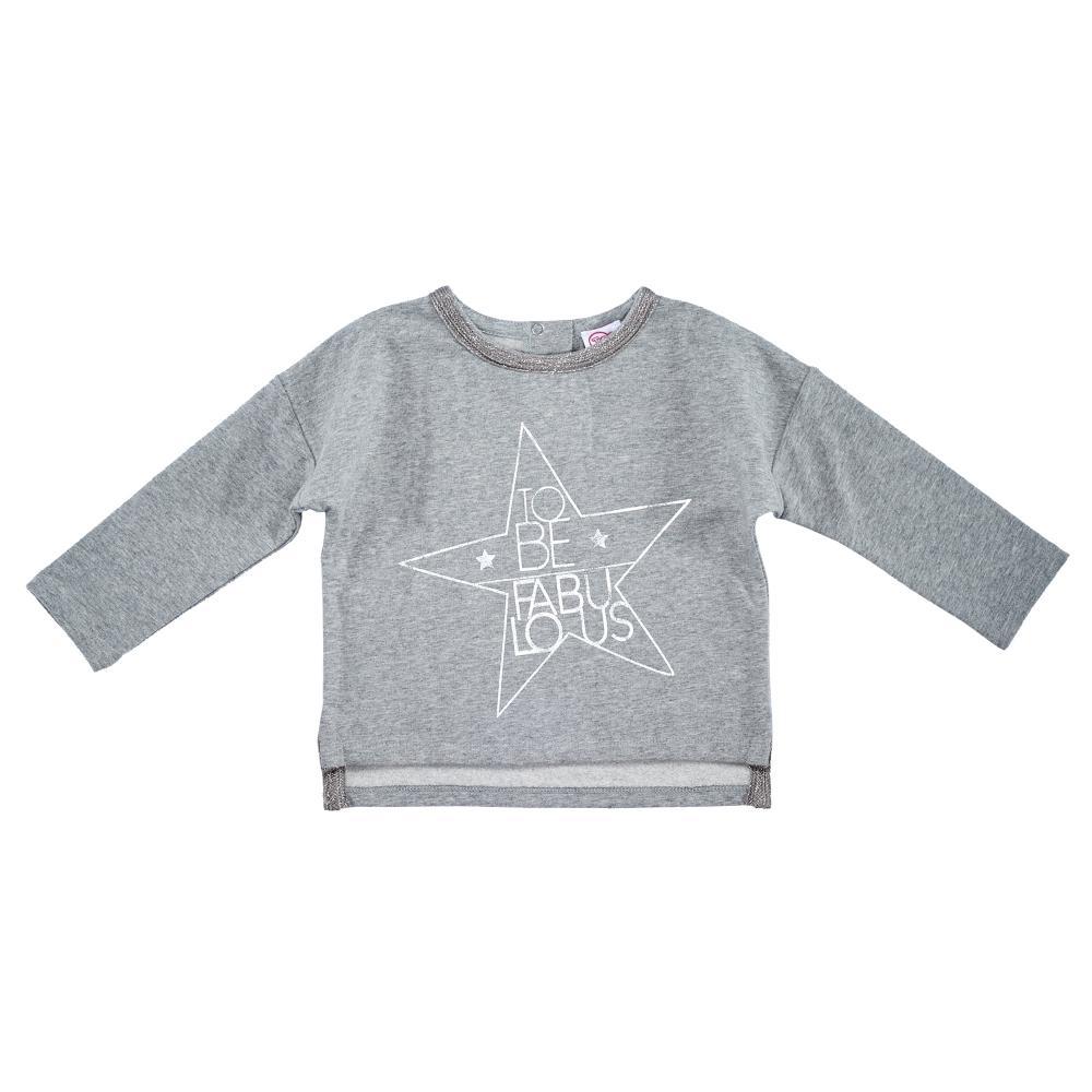 Bluza copii Chicco gri cu model 74