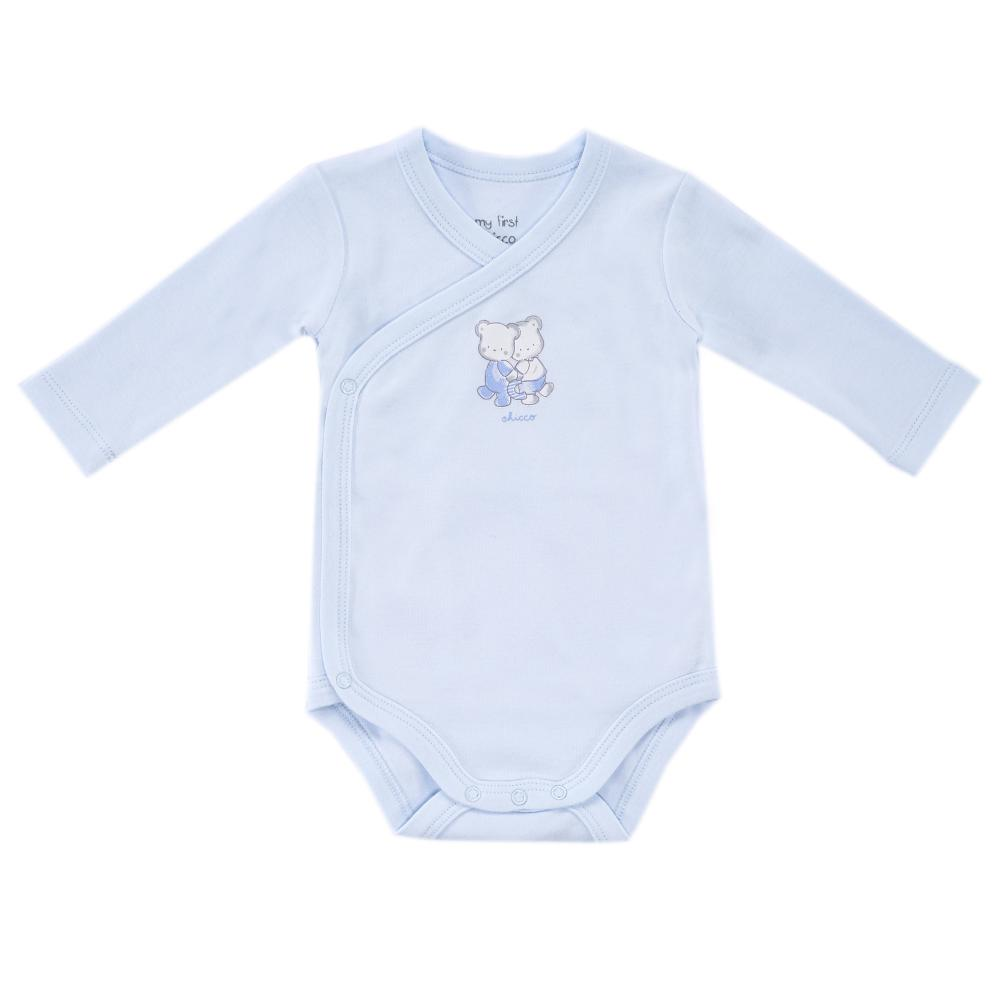 Chicco Body copii Chicco maneca lunga albastru 50