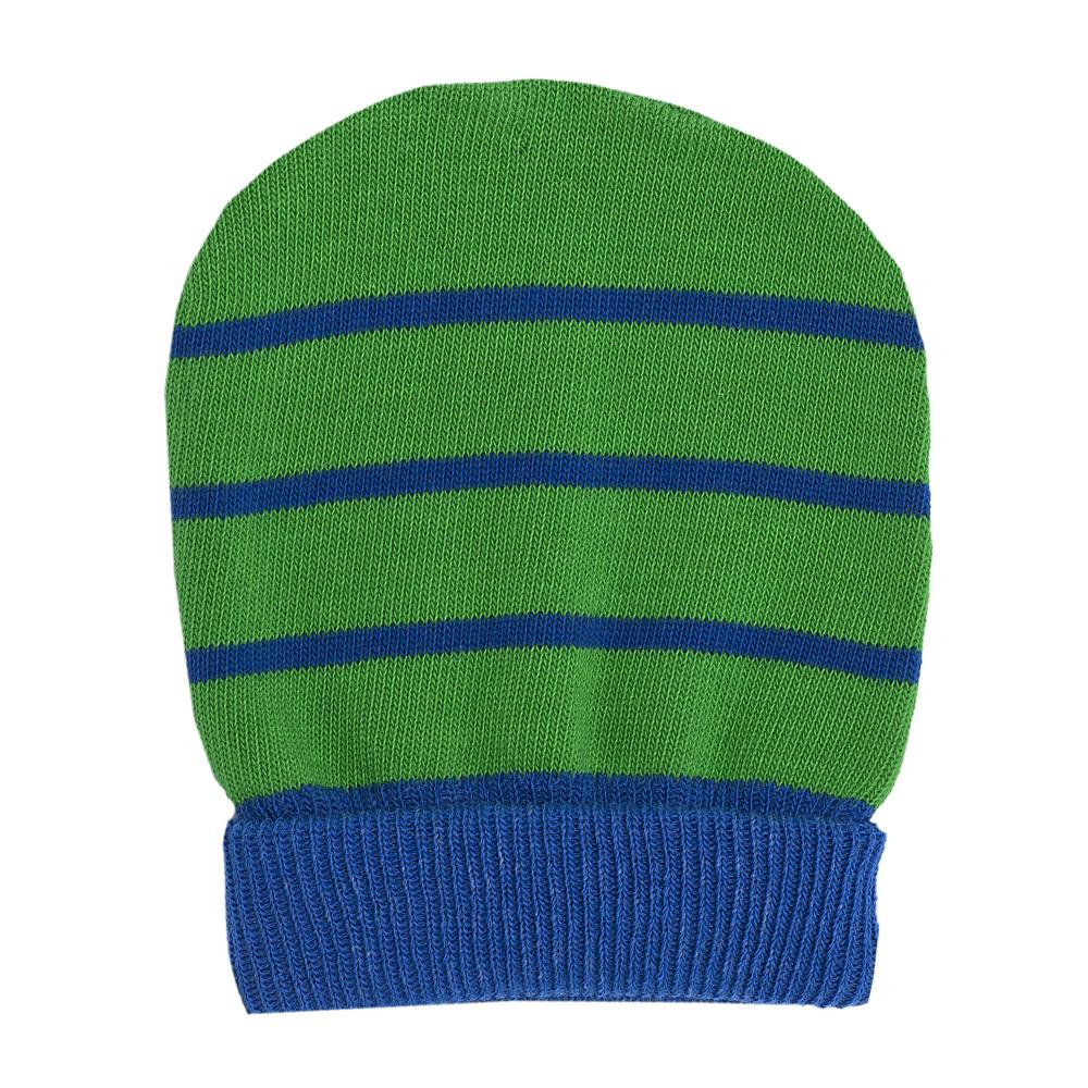 Caciula tricotata Chicco, verde, amestec bumbac din categoria Caciuli, Sepci