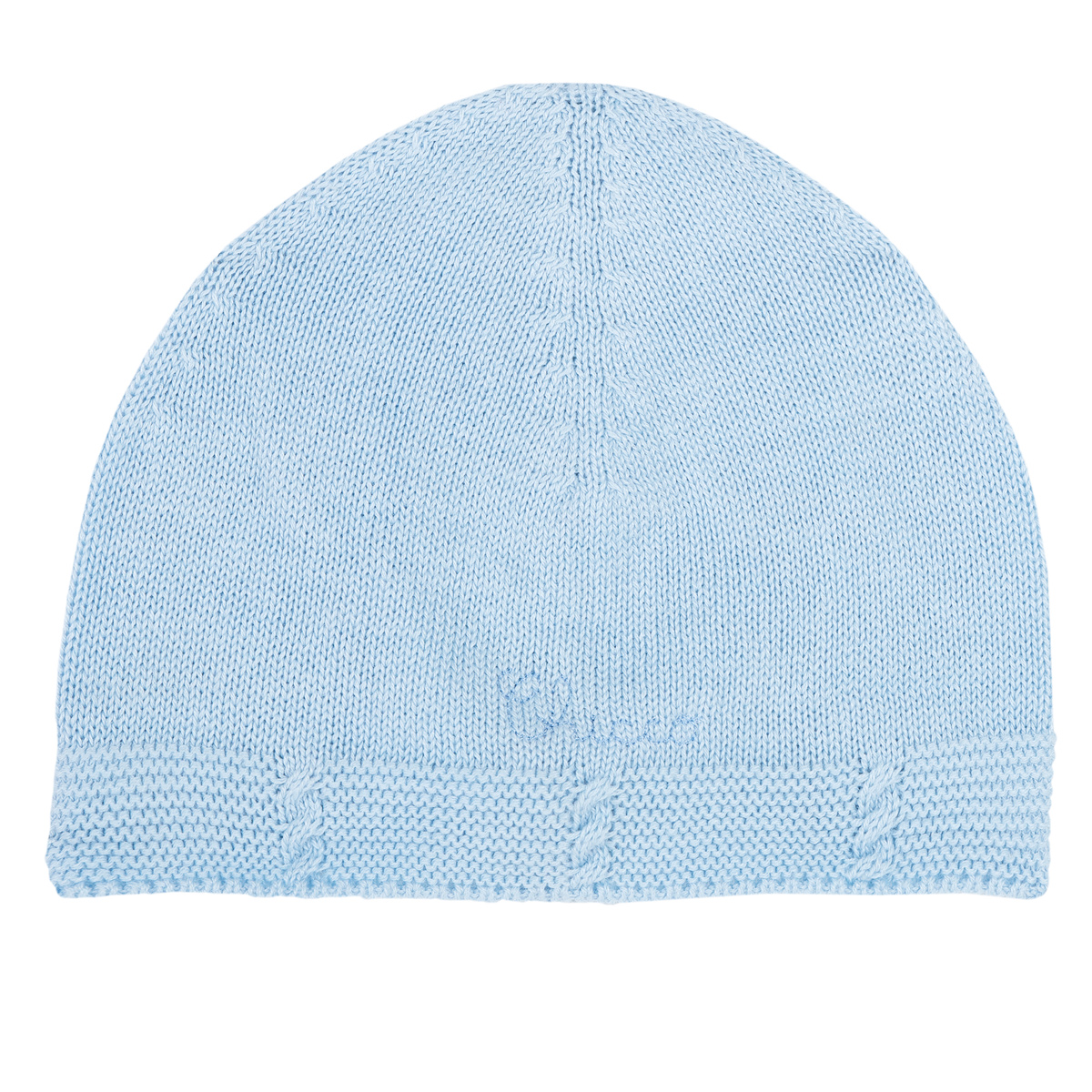 Caciula Bebe Tricotata Chicco, Albastru Cu Roz, 04616 imagine