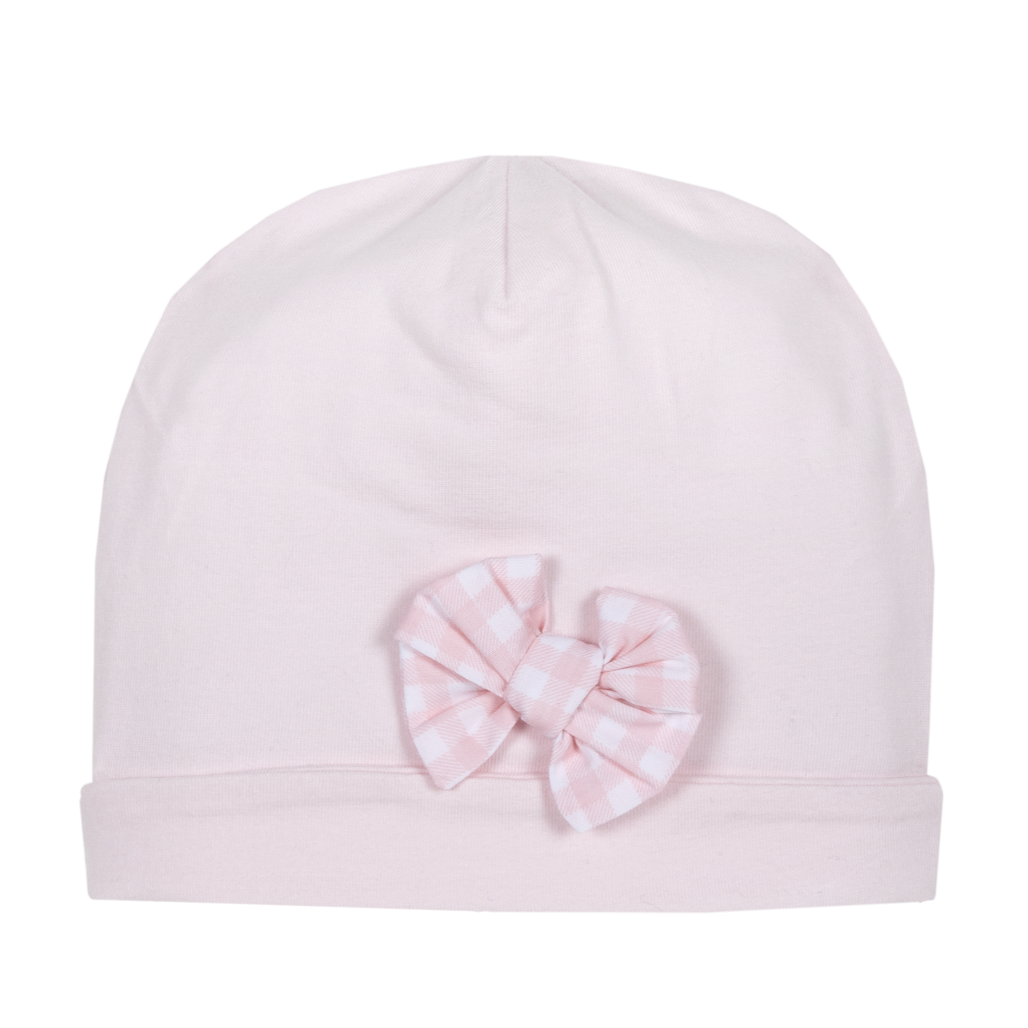 Caciula copii, jerse elastic, roz, 04387