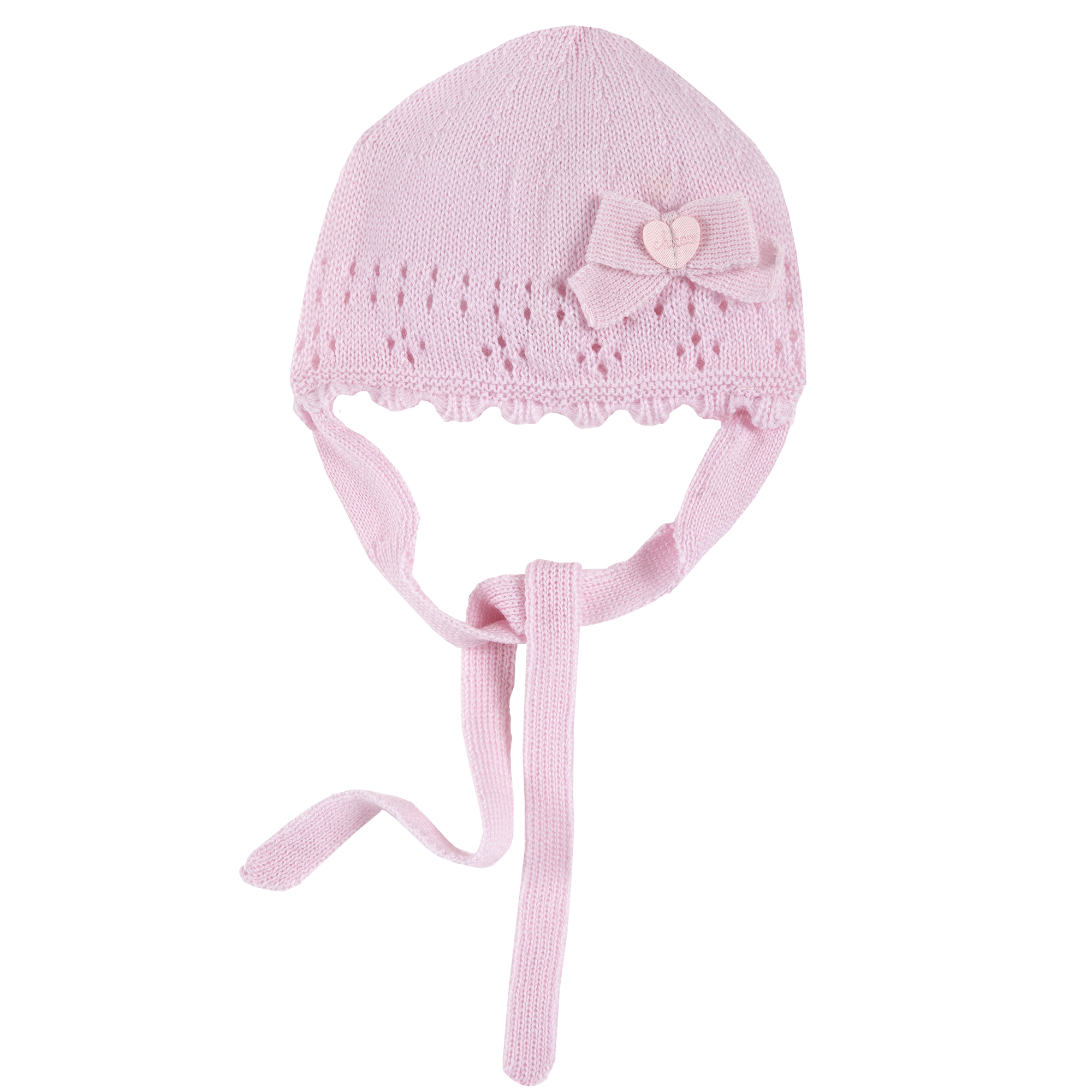 Caciula copii Chicco, tricotata, roz, 04491