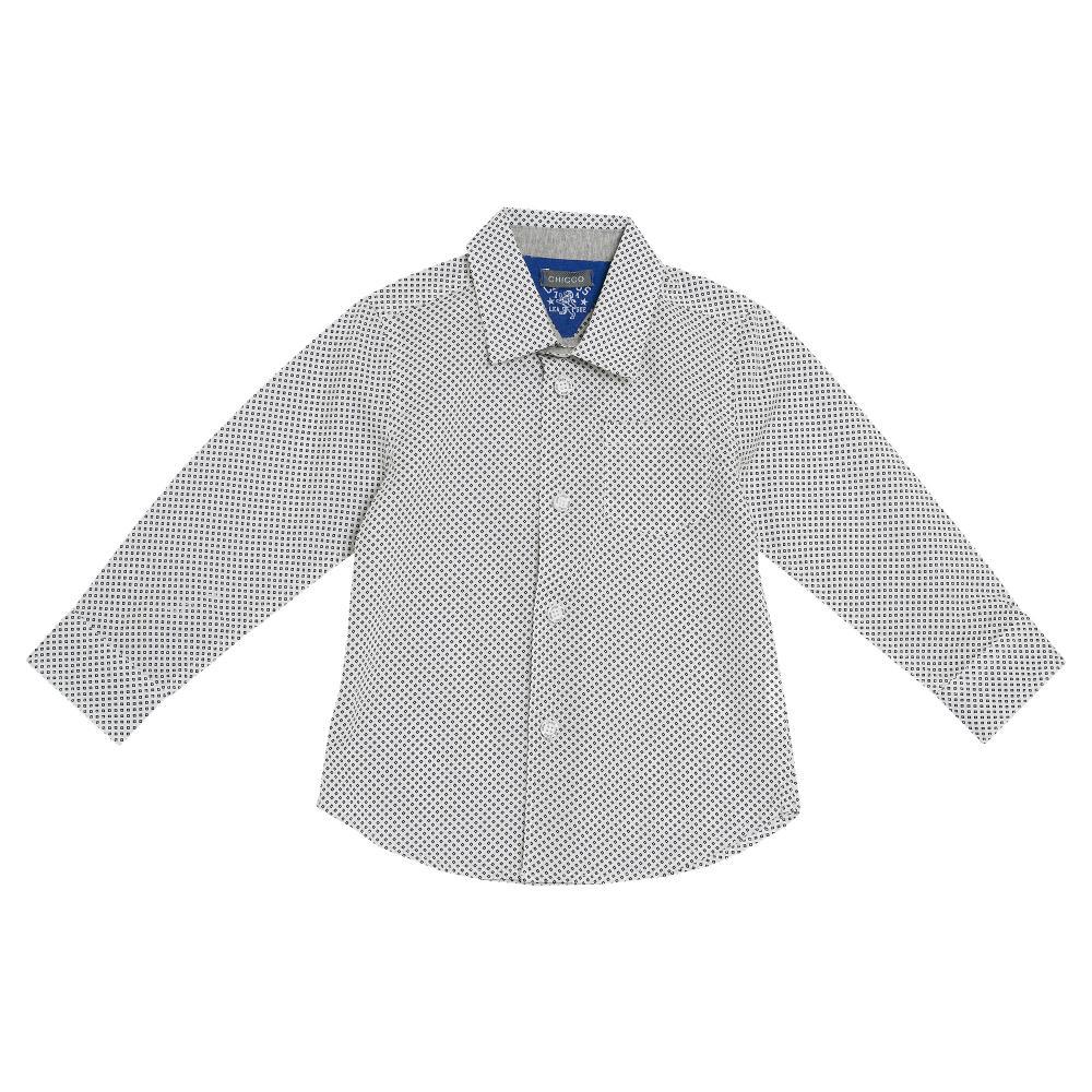 Camasa Chicco, maneca lunga, alb, 54300 din categoria Camasi copii