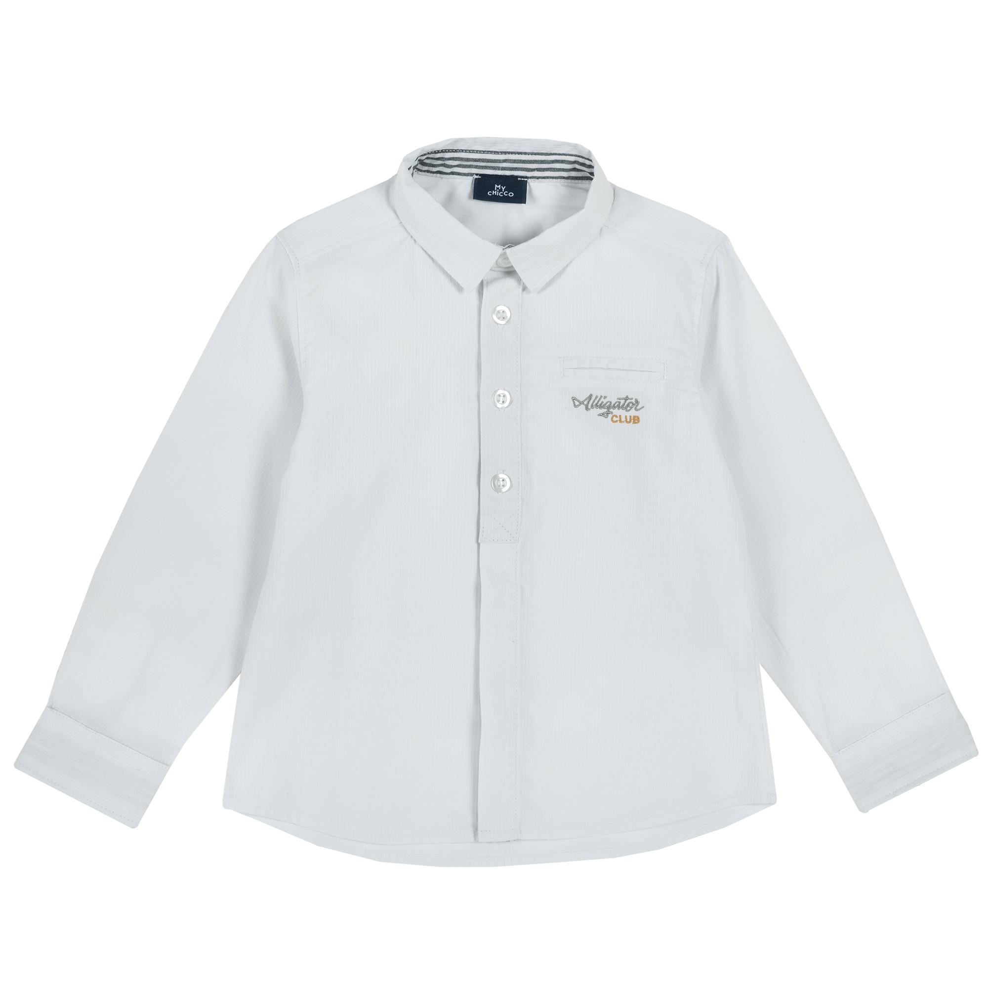 Camasa copii Chicco, maneca lunga, alb, 54458 din categoria Camasi copii