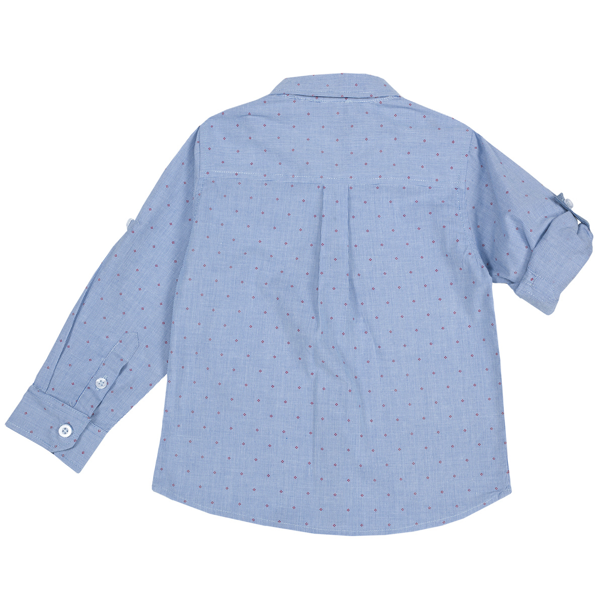 Camasa Copii Chicco, Maneca Lunga, Albastru Cu Roz, 54464 imagine