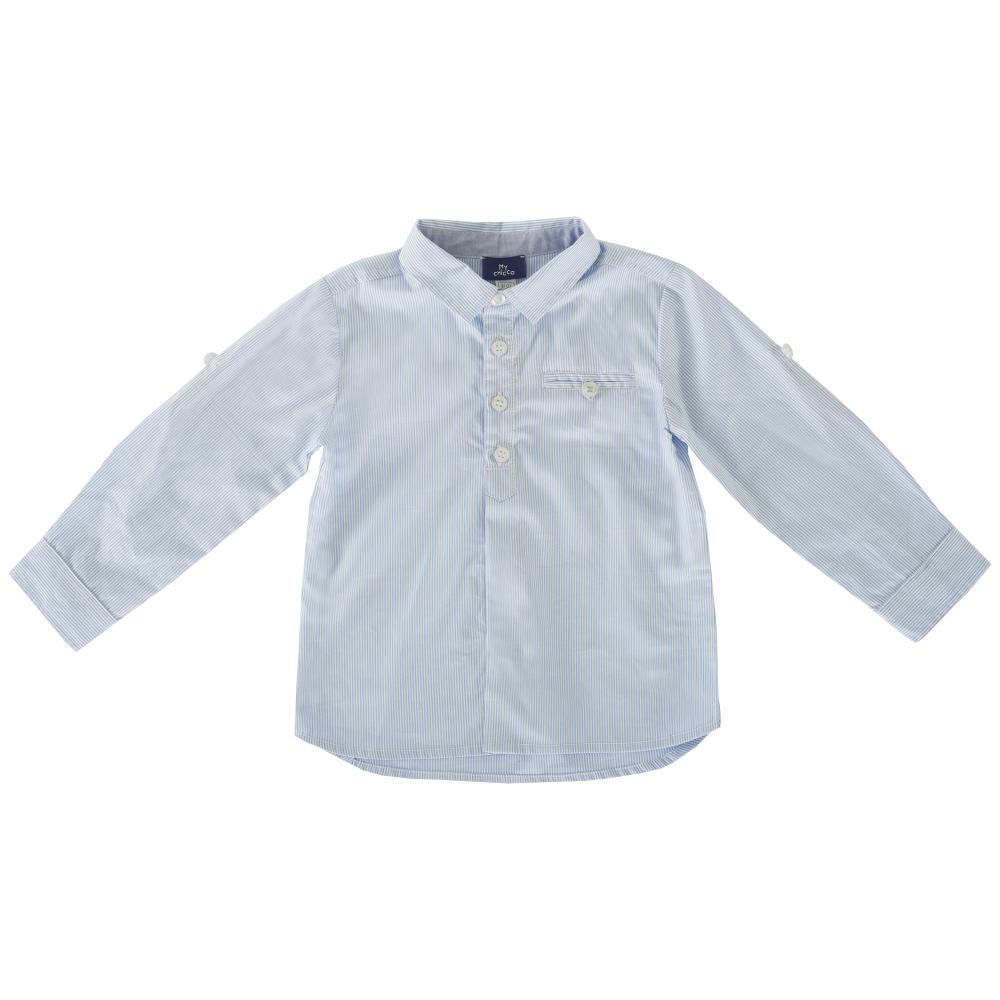 Camasa copii Chicco, maneca lunga,bleu deschis, 54397