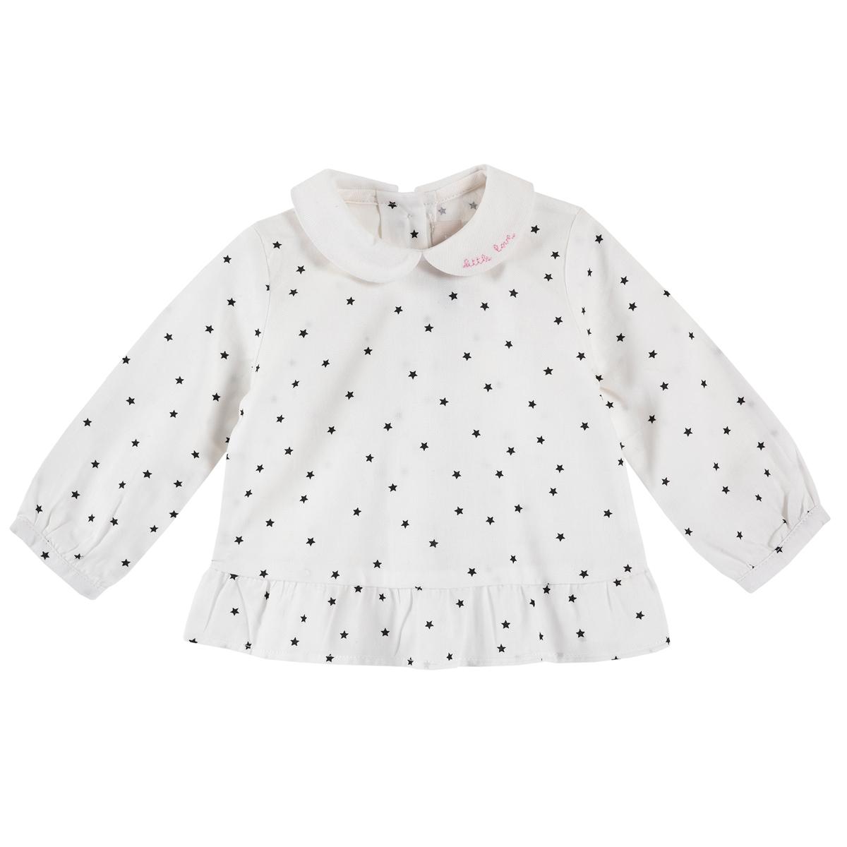 Bluza copii Chicco, guler si volanas, 06740
