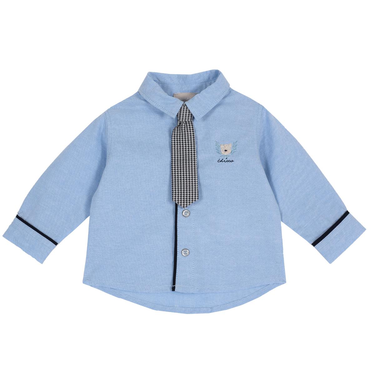 Camasa Copii Eleganta Chicco, Cravata Carouri, 54487 imagine