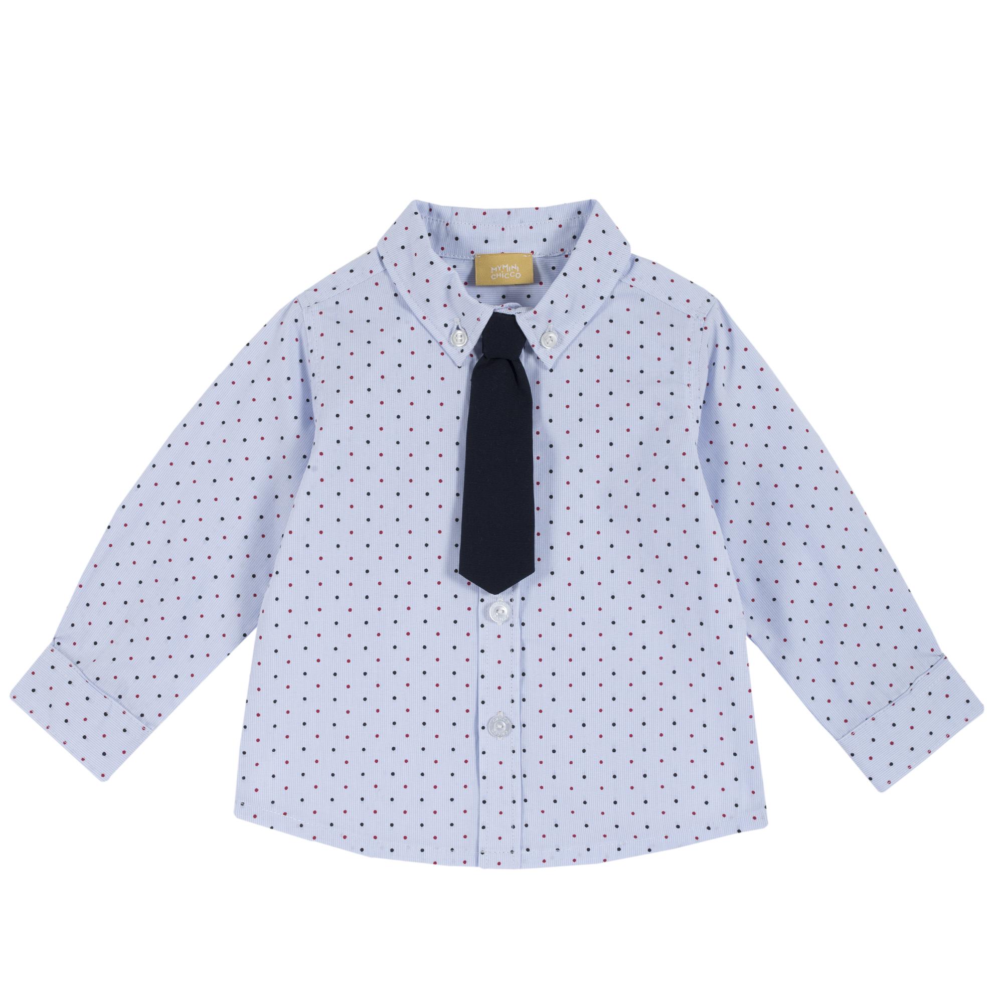 Camasa copii Chicco, maneca lunga si cravata, 54494 din categoria Camasi copii