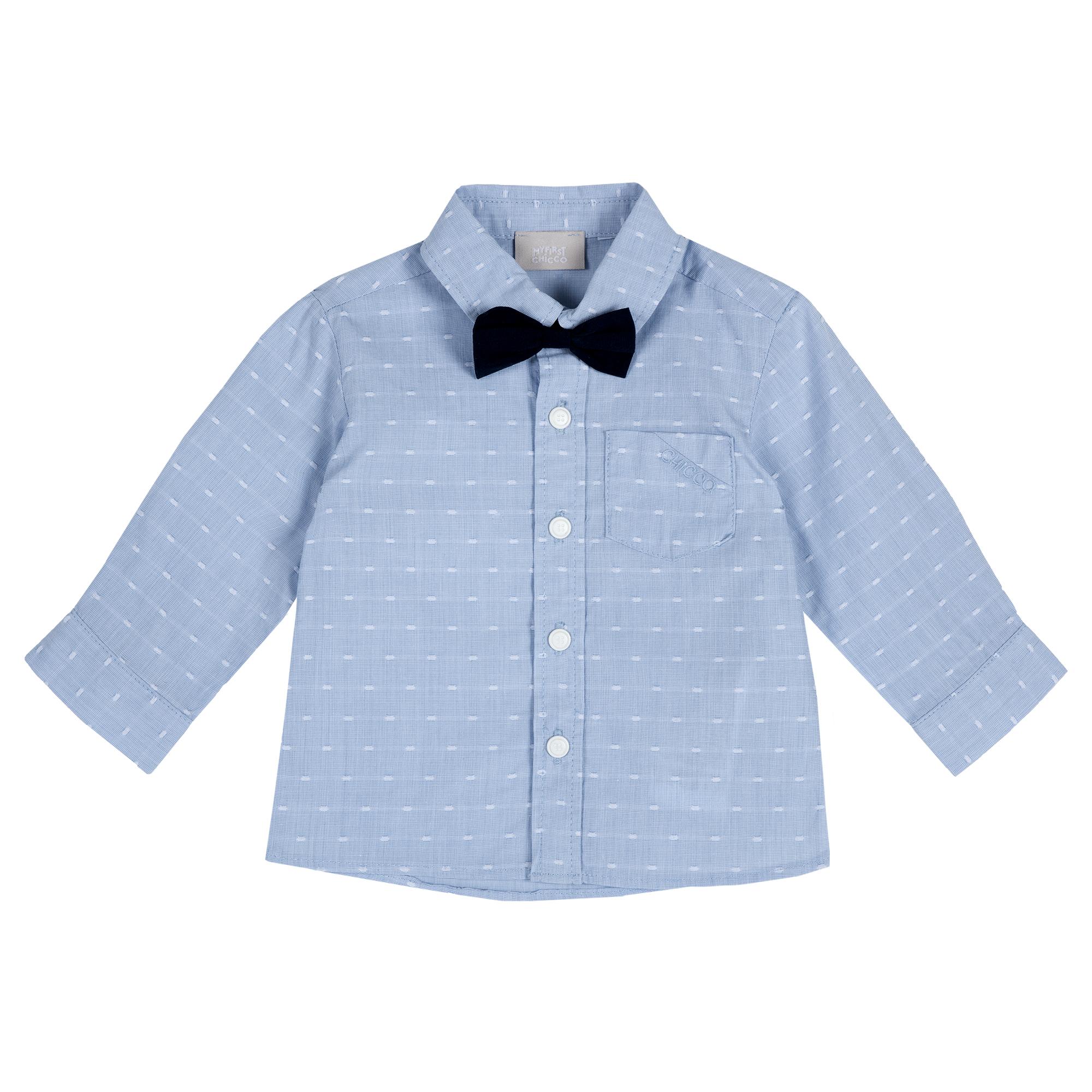 Camasa Copii Chicco, Papilon, Albastru, 54520 imagine