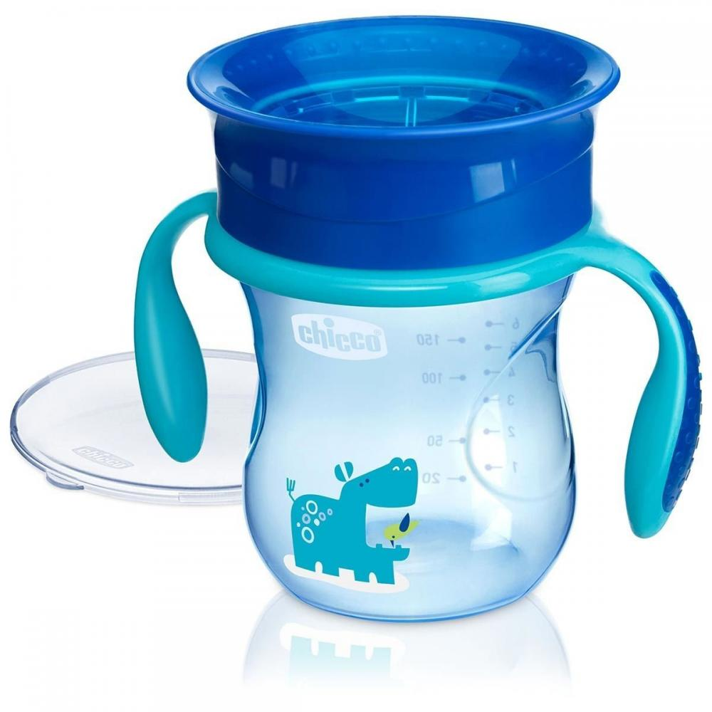 Canuta Chicco 360 Perfect Cup, Boy, 12luni+ din categoria Diversificare alimentatie