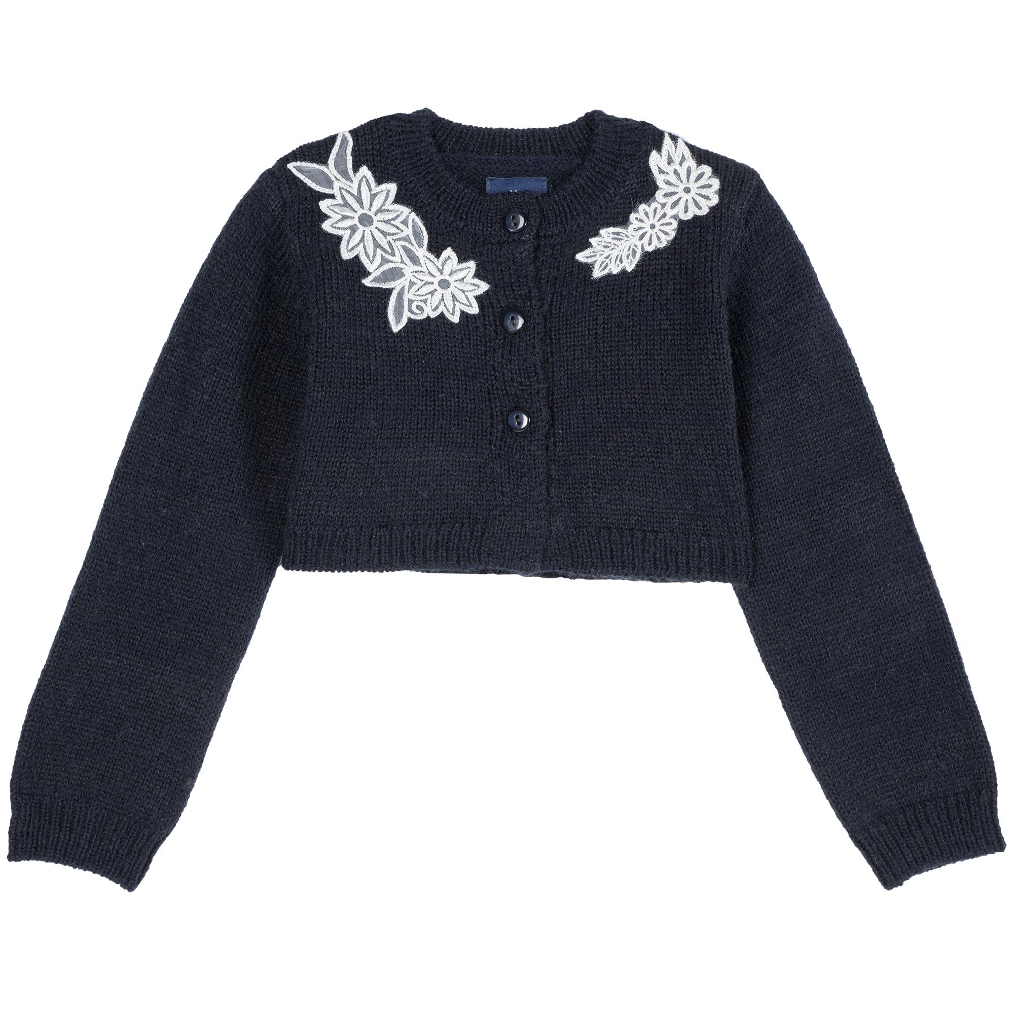 Cardigan Copii Chicco, Albastru Inchis imagine