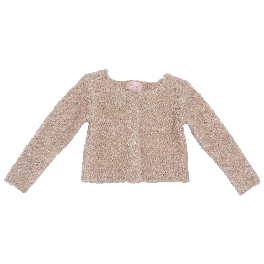 Cardigan Chicco, tricotat, roz, 96285 din categoria Cardigan copii