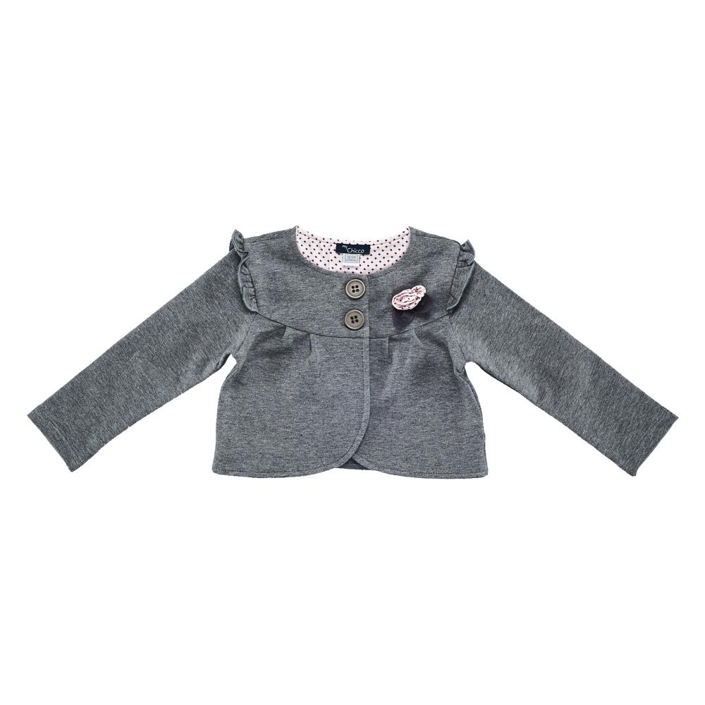 Cardigan copii Chicco, gri