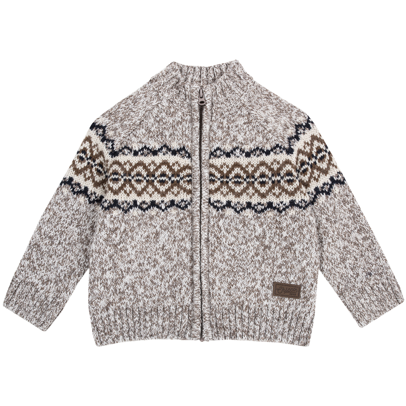 Cardigan copii Chicco maro 104