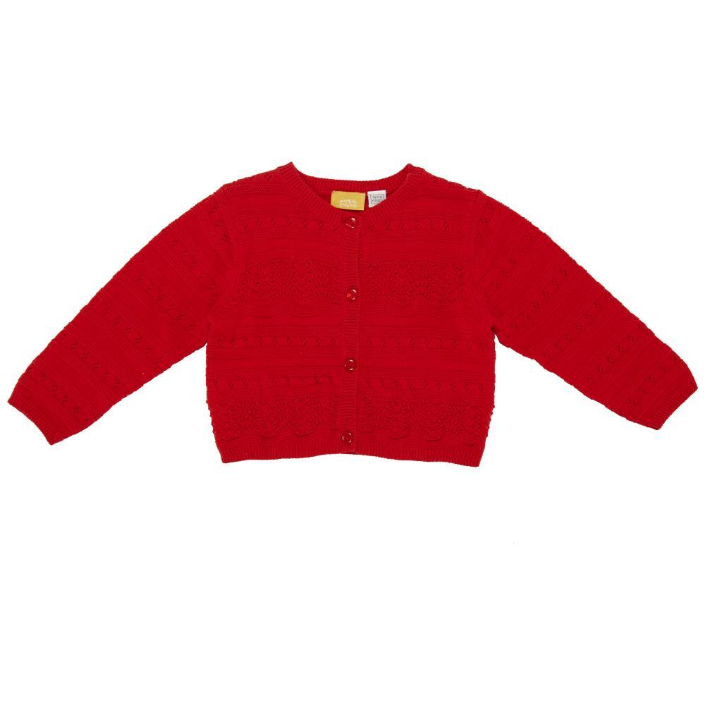 Cardigan copii Chicco tricotat rosu 98