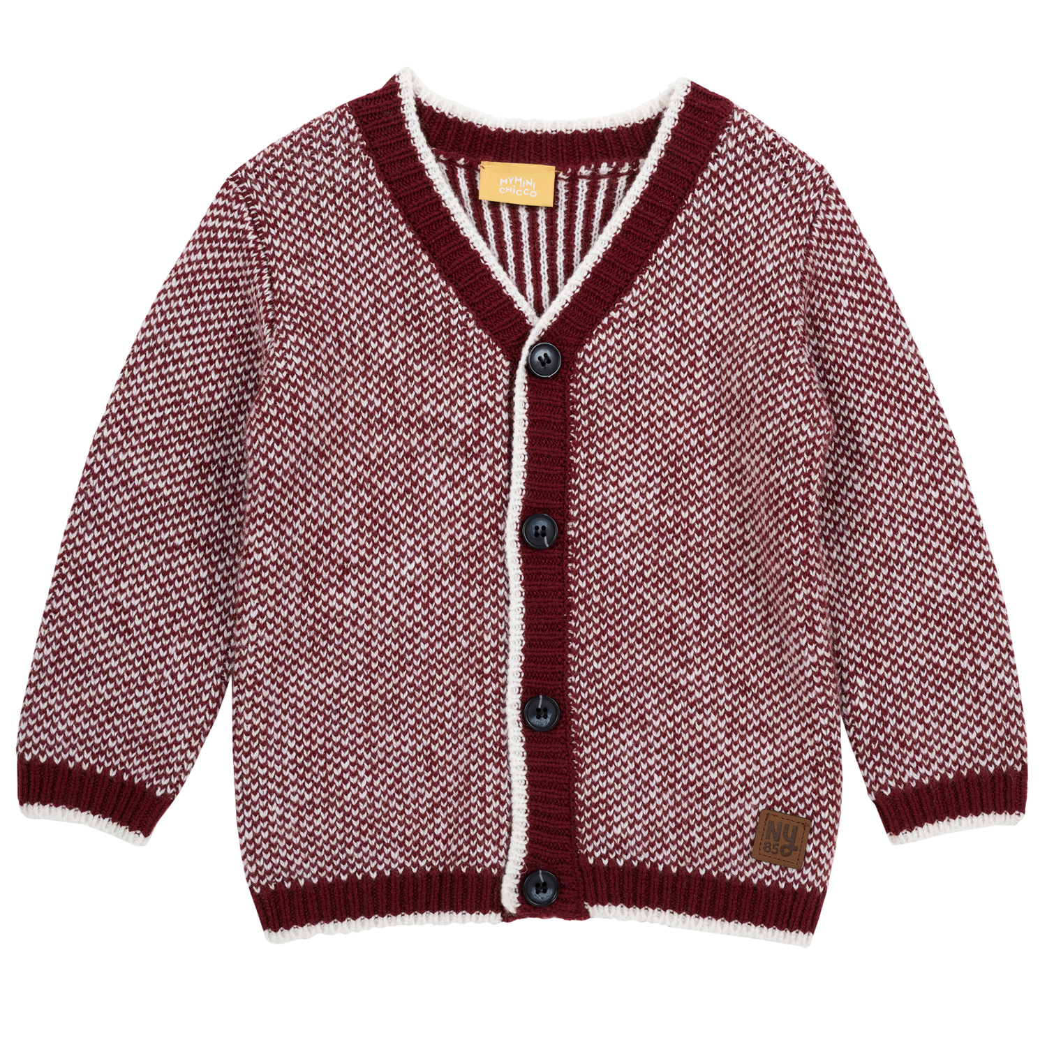 Cardigan copii Chicco, visiniu