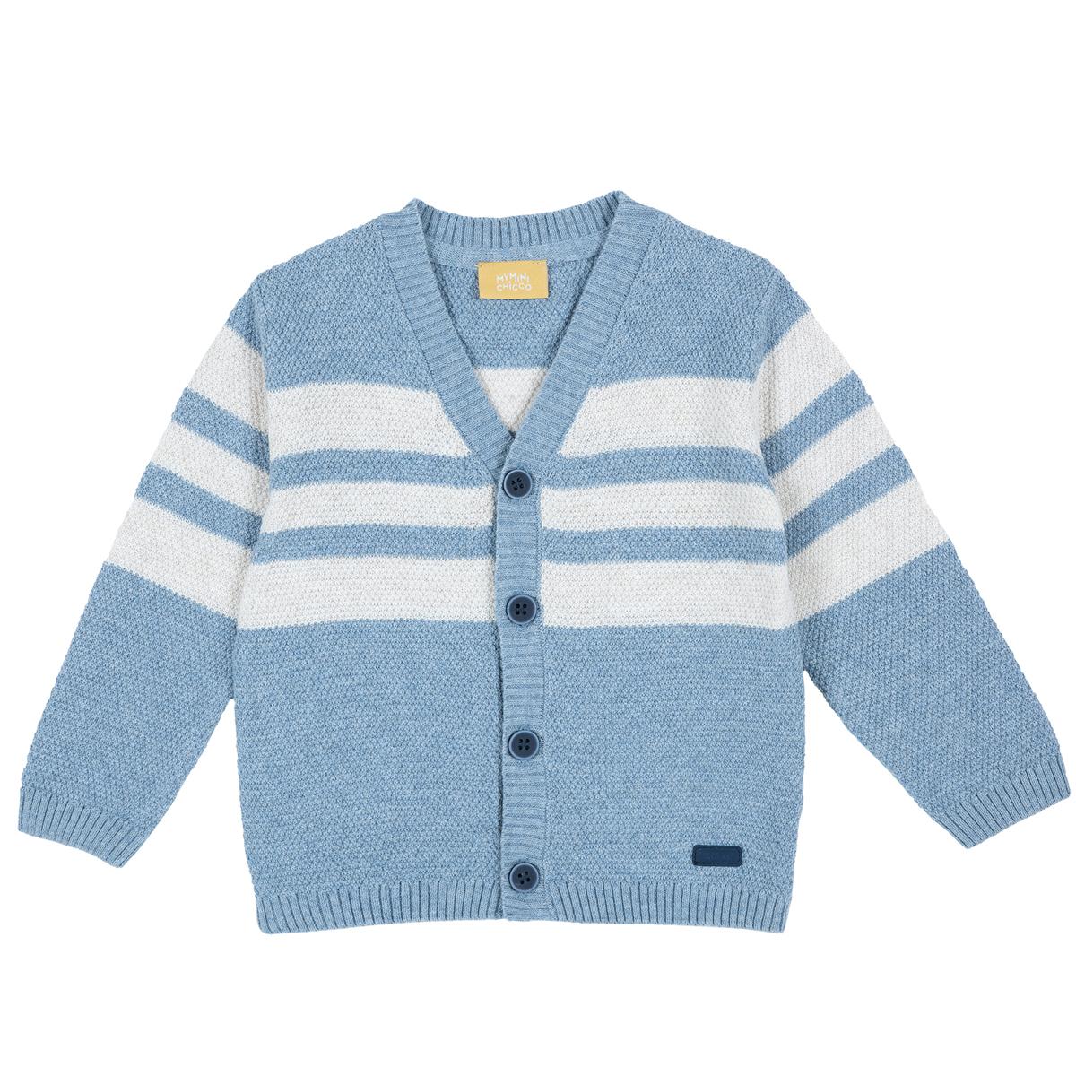 Cardigan copii Chicco, inchidere nasturi, albastru deschis, 96849 din categoria Cardigan copii