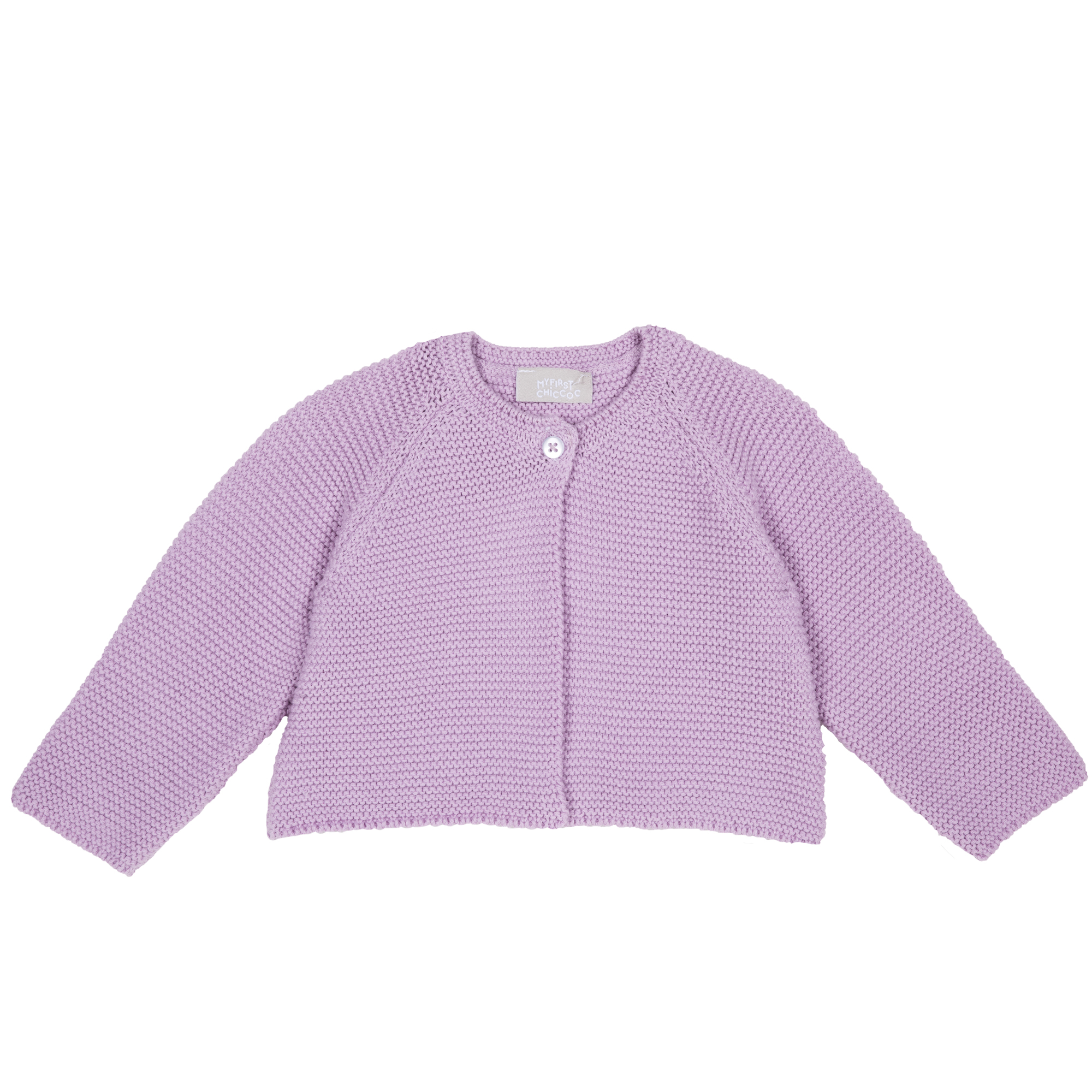 Cardigan copii Chicco, tricotat, lila, 96787