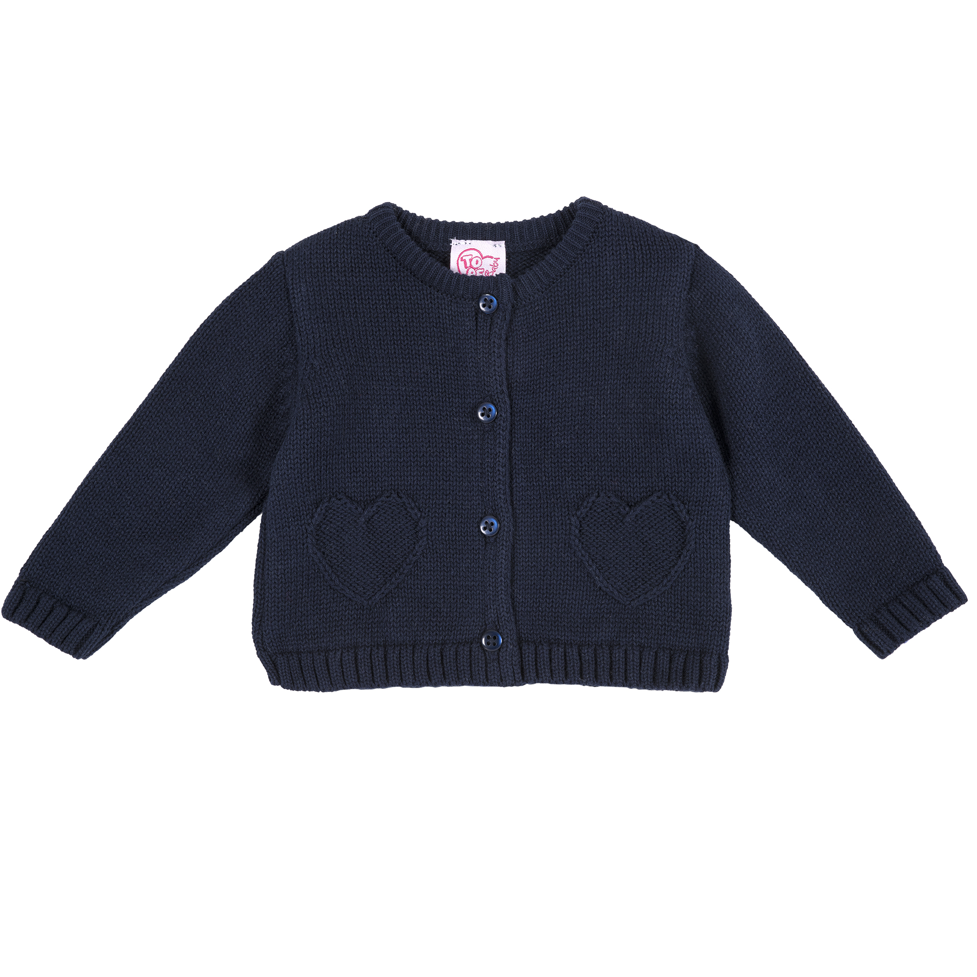 Cardigan Copii Chicco, Tricotat, Albastru, 96074 imagine
