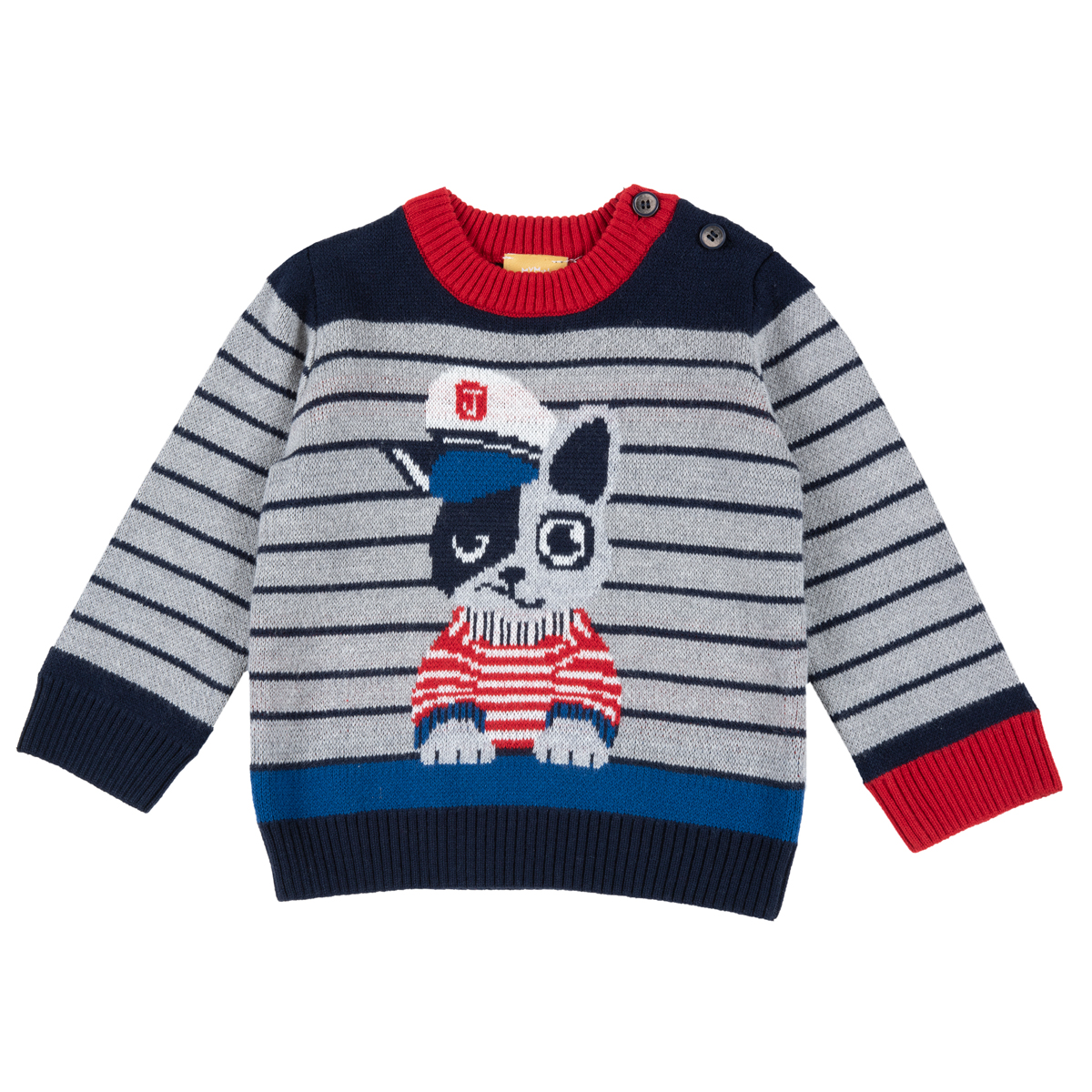 Pulover Cardigan Copii Chicco, Multicolor, 69444 imagine
