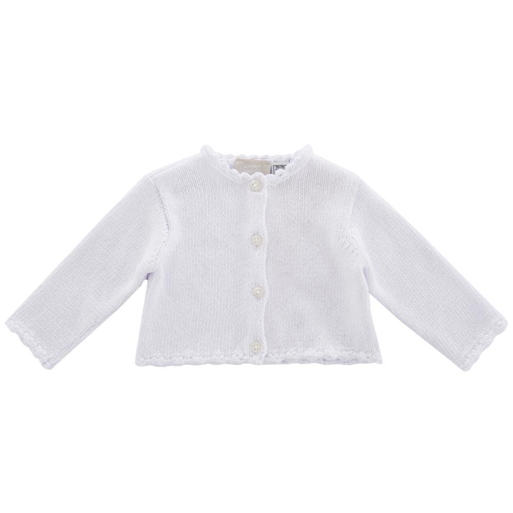 Cardigan tricotat copii Chicco fetite roz 62