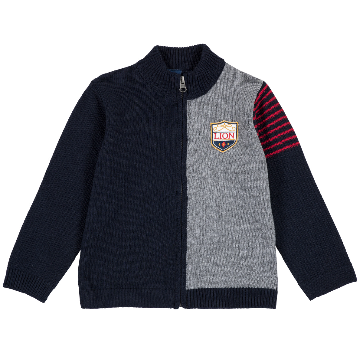Cardigan copii Chicco, tricotat, blazon cusut, 96980 din categoria Cardigan copii