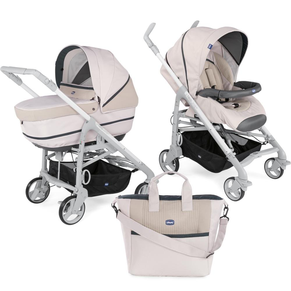 Carucior 2 in 1 Chicco Duo Love UP carucior si landou Beige 0luni+ thumbnail